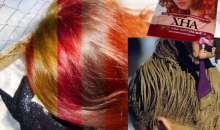 Секрети фарбування волосся хною